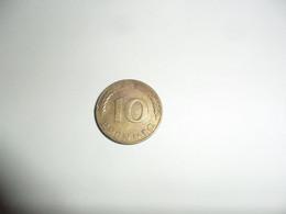 10 Pfennig 1970 J - 10 Pfennig