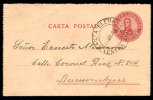 ARGENTINA 1910 5 Ct POSTAL STATIONERY LETTER CARD - Argentina