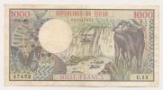AFRIQUE / AFRICA / TCHAD - 1000 FRANCS 1980 - Ciad