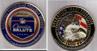 Army / USA / Medal / Operation Iraqi Freedom / Letting Freedom Ring / Saluting Those Who Proudly Served - Army