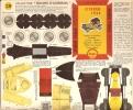 PUBLICITE SHELL - BOLIDES D' AUTREFOIS  CITROEN 1924 - Carton / Lasercut