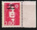 Saint Pierre Et Miquelon  SPM  N°520 ** Luxe  , Cote 2,00 € Au Quart De Cote