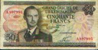 LUXEMBOURG - 50 Fr - 25.08.1972 - Luxemburgo