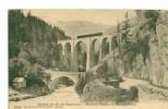Chemin De Fer De Chamonix - Pont Et Viaduc De  Sainte-Marie 1911 (train Sur Le Viaduc) Dép74 - Non Classés