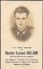 SAINT - LEGER ..-- Faire-part Mortuaire . Raymond Guillaume . Grand Invalide 40 / 45 . Décédé En 1947 . - Saint-Léger