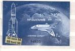 BULGARIA / Bulgarie 1988 Space -  Buran  S/S- MNH (imperf.) - Space
