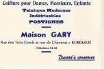 BUVARD   COIFFEUR GARY BORDEAUX - Transports