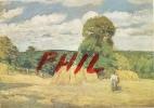 """Camille Pissarro - """"La Moisson à Montfoucault"""" - Musée D´Orsay, Ref 1108-246 - Paintings"""
