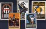 GERMANY 1913 Ausstellungs - 5 Vignettes - Deutschland