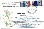 Enveloppe Timbrée ( 3d Et 6d ) Forth-Road-Bridge Special-issue De September 4 Th  1964 - Otros