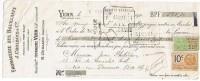VERN  SUR  SEICHE      -  FROMAGERIE  DES  BOUILLANTS    1926 - Bills Of Exchange