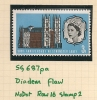 UK - Variety  SG 687pa Phosphor Diadem Flaw  (Row 16 Stamp 2) - MNH - Spec. Cat. Volume 3 - Page 278 - Errors, Freaks & Oddities (EFOs