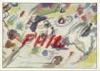 """Wassily Kandinsky - """"Première Aquarelle Abstraite"""", Ref 1108-278/79 - Peintures & Tableaux"""