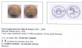 Euros Temporaires : Euro De Voiron (Isère-38), Dauphiné - France