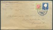 Lettre Classique De EYSTRI-GARDSAUKA 7-II-1920 Vers Zürich.  Bel Affranchissement Combiné - 7151 - Islande