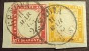 BICOLORE 80+40c, Valore Catalogo 1.045 Euro! - Sardaigne