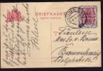 Niederlande: 1 Alte Ganzsachen P148, Gelaufen !! - Postal Stationery