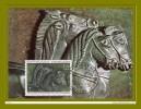 """CM N° YT 1478 """" CRATERE DE VIX  """" + Prix Dégressif. - Horses"""