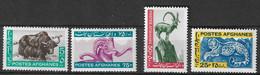 Afghanistan 1964 MiNr. 915 - 918 Fauna Mammals 4v MNH** 11,00 € - Felini