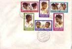 Togo FDC 21/02/1970 Coiffures Togolaises _ Fefe _ Danmlongbedji _ Blom _ Aklui - Togo (1960-...)