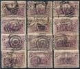 126-MA / USA - 1893  Lot Of Different Postmarks No.74 (Michel) - Stempelpartie - 1847-99 Unionsausgaben
