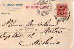 CARTOLINA POSTALE CON TIMBRO DI PAVIA-4-11-1918-PUBBLICITA'-AVVOCATO AMBROGIO ROBECCHI E DOMENICO POZZI - Fiscales