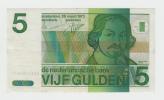 Netherlands 5 Gulden 1973 AXF CRISP Pre-Euro Banknote P 95 - 5 Florín Holandés (gulden)