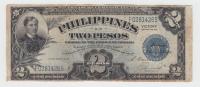 Philippines 2 Peso 1944 VF Victory Over Japan WW 2 - Series E P 95 - Filipinas