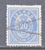 Iceland 17  Fault  (o) - 1873-1918 Danish Dependence