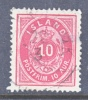 Iceland 26  Fault  (o) - 1873-1918 Danish Dependence