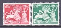 Germany B 206-7  *  GOLDSMITHS - Unused Stamps