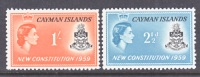 Cayman Islands  151-2  *  NEW CONSTITUTION - Cayman Islands