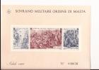 SMOM Ordine Di Malta Blocco Foglietto Natale BF 1968 Tiratura Solo 50.000 Pezzi NUOVO - Malte (Ordre De)
