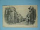 Cpa 51 -- MONTMIRAIL -- La Rue De Paris - Maison Anglerot - ANIMATION - Cpa Précurseur Circulé 1906 - Montmirail