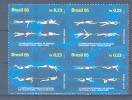 BRASIL Mi.Nr. 2679-2682 Sport Schwimmen-MNH - Schwimmen