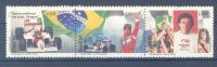 BRASIL Mi.Nr. 2623-2625 Sport F1 Ayrton Senna-MNH - Automobile