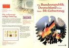 00764) BRD Erinnerungsblatt Michel EB 3/1999 Faltung: 3-fachmit Block 48 + 49 - 50 Jahre BRD - Wert: 13,00 Mi€ - Briefe U. Dokumente