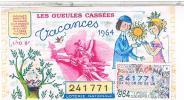 Billets De Loterie...  GUEULES CASSEES    AMOUREUX PEYNET  1964 ......LO202 - Billets De Loterie