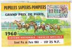 Billets De Loterie... SAPEURS POMPIERS     1960 ......LO243 - Billets De Loterie