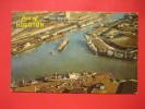 Texas >  Houston  -- Aerial View Port Of Houston   1965 Cancel   Early Chrome     --   ---  --- ----------ref 258 - Houston