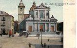UN SALUTO DA TERRANOVA DI SICILIA - LA CATTEDRALE      1912 - Gela
