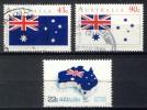 Australia 1981 + 1991, Lot Of 3 Stamps, Australia Day (o), Used - 1980-89 Elizabeth II
