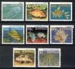 Australia 1984 + 1986, Lot Of 8 Stamps, Sealife - Fish (o), Used - 1980-89 Elizabeth II