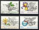 Australia 1985, Lot Of 4 Stamps, Christmas (o), Used - 1980-89 Elizabeth II