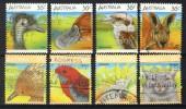 Australia 1986-1987, Lot Of 8 Stamps, Wildlife (o), Used - 1980-89 Elizabeth II
