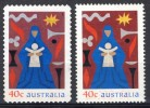 Australia 1999, Christmas (o), Used, 2 Different Perforation - 1990-99 Elizabeth II