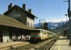 RU 0727 - Train, Loco BB 25100 (25193) En Gare - AIME (73) - SNCF - - France