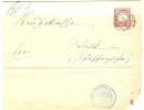REF LBON4 - 1 GR SUR LETTRE HAGENAU 14/8/1874 - Alsace-Lorraine
