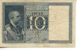 10 LIRE PERIODO FASCISTA CON EFFIGE DEL RE - - [ 1] …-1946 : Koninkrijk