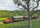 TRAIN - AK 84618 DB - Diesel-Kleinlokomotive 333 057-8 Im Ochsenfurter Gau Bei Gaukönigshofen - Treinen